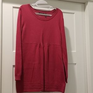 Daisy Fuentes pink sweater size M